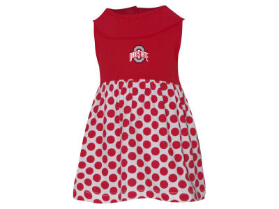 Ohio State Buckeyes NCAA Newborn Tessa Dress