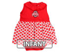 Ohio State Buckeyes NCAA Infant Tessa Dress Infant Apparel