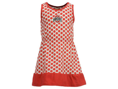 Ohio State Buckeyes NCAA Toddler Tessa Dress