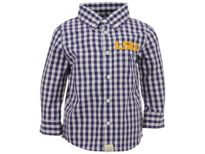 LSU Tigers NCAA Toddler Logan Long Sleeve Button Down