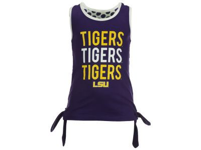 LSU Tigers NCAA Toddler Girls Kylie Tank