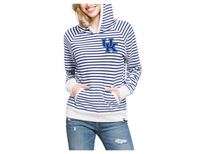 Kentucky Wildcats '47 MLB Women's Stripe Pullover Hoodie