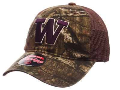 Washington Huskies Zephyr NCAA Over Under Trucker Cap
