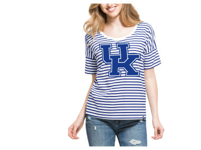Kentucky Wildcats '47 NCAA Women's Coed Stripe T-Shirt