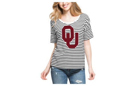 Oklahoma Sooners '47 NCAA Women's Coed Stripe T-Shirt