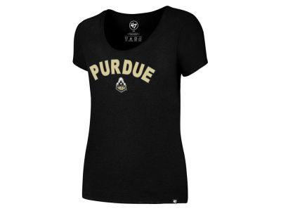 Purdue Boilermakers '47 NCAA Women's Club Home Sweet Home Scoop T-Shirt