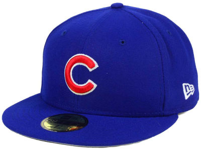 Chicago Cubs MLB Flag Stated Redux 59FIFTY Cap