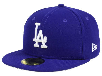 Los Angeles Dodgers MLB Flag Stated Redux 59FIFTY Cap
