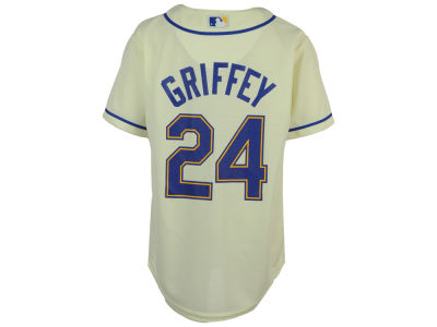 Seattle Mariners Ken Griffey Jr. Majestic MLB Youth Player Replica Cool Base Jersey