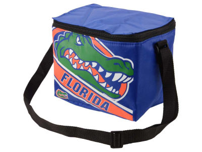 Florida Gators 6-pack Big Logo Stripe Lunch Cooler