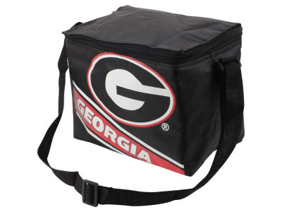 Georgia Bulldogs Forever Collectibles 6-pack Big Logo Stripe Lunch Cooler
