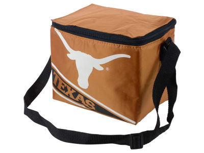 Texas Longhorns 6-pack Big Logo Stripe Lunch Cooler