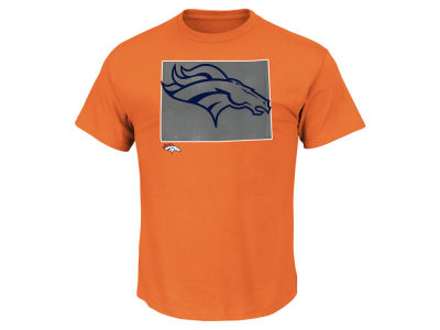Denver Broncos Majestic NFL Men's State Reflective T-Shirt