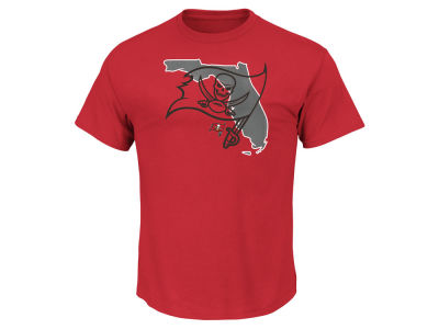 Tampa Bay Buccaneers Majestic NFL Men's State Reflective T-Shirt