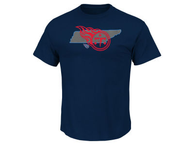 Tennessee Titans Majestic NFL Men's State Reflective T-Shirt