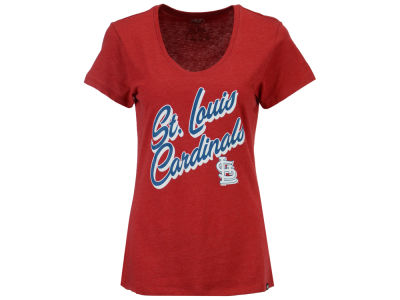 St. Louis Cardinals '47 MLB Women's Club Script T-Shirt