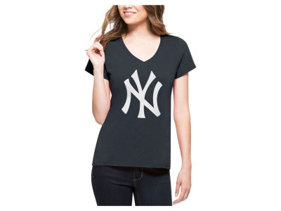 New York Yankees '47 MLB Women's Splitter Logo T-Shirt