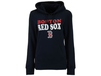 Boston Red Sox '47 MLB Women's Headline Hooded Sweatshirt