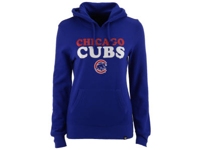 Chicago Cubs '47 MLB Women's Headline Hooded Sweatshirt