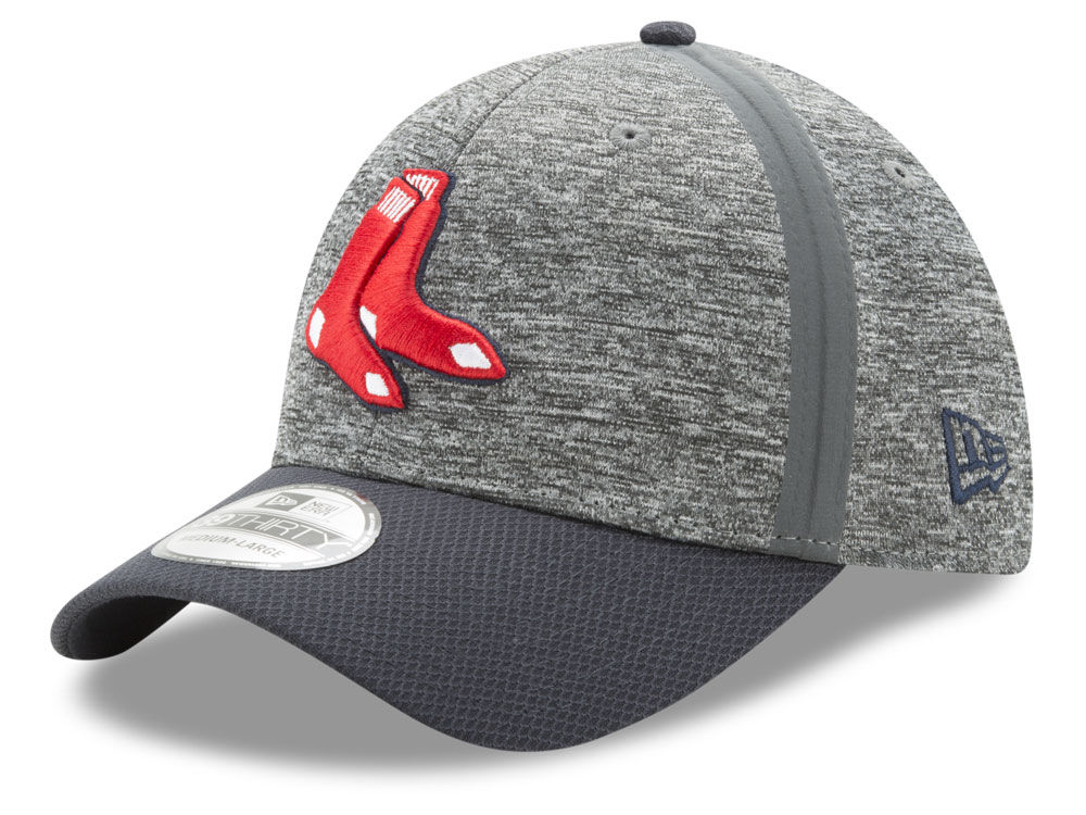 ba868a82606 Boston Red Sox New Era 2017 MLB Clubhouse 39THIRTY Cap