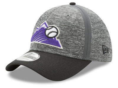 Colorado Rockies New Era MLB Clubhouse 39THIRTY Cap