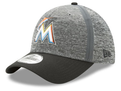 Miami Marlins New Era 2017 MLB Clubhouse 39THIRTY Cap