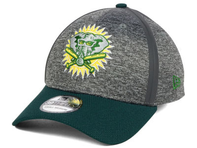 Oakland Athletics New Era 2017 MLB Clubhouse 39THIRTY Cap