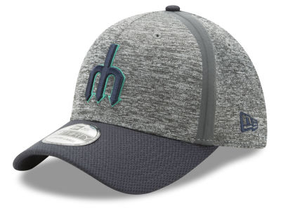 Seattle Mariners New Era MLB Clubhouse 39THIRTY Cap