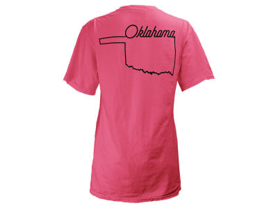 Oklahoma Sooners Pressbox NCAA Women's State Love T-Shirt