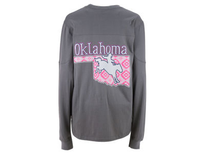 Oklahoma Sooners Pressbox NCAA Women's State Nights Long Sleeve T-Shirt