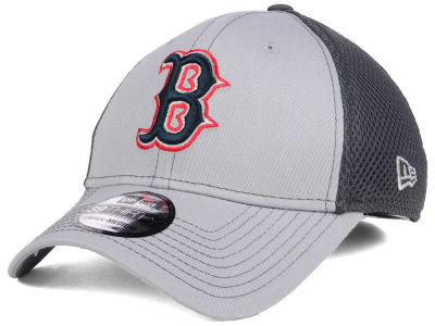 Boston Red Sox New Era MLB Greyed Out Neo 39THIRTY Cap