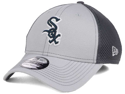 Chicago White Sox New Era MLB Greyed Out Neo 39THIRTY Cap