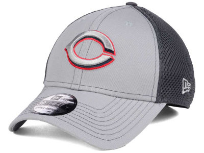 Cincinnati Reds New Era MLB Greyed Out Neo 39THIRTY Cap