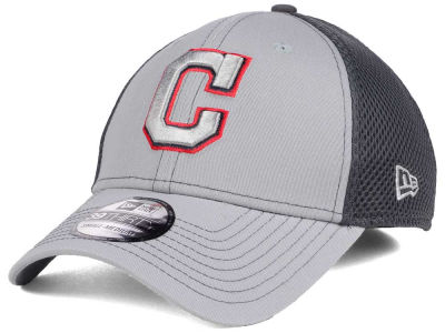 Cleveland Indians New Era MLB Greyed Out Neo 39THIRTY Cap
