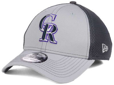 Colorado Rockies New Era MLB Greyed Out Neo 39THIRTY Cap