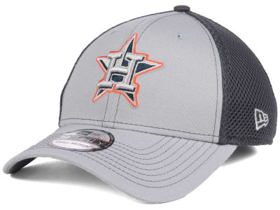Houston Astros New Era MLB Greyed Out Neo 39THIRTY Cap