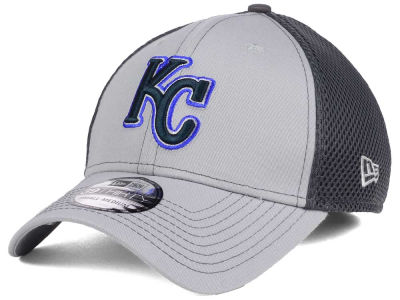 Kansas City Royals New Era MLB Greyed Out Neo 39THIRTY Cap