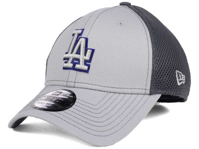Los Angeles Dodgers New Era MLB Greyed Out Neo 39THIRTY Cap