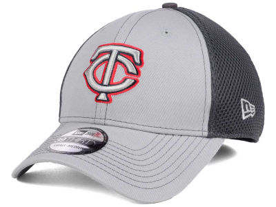 Minnesota Twins New Era MLB Greyed Out Neo 39THIRTY Cap