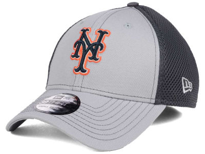 New York Mets New Era MLB Greyed Out Neo 39THIRTY Cap