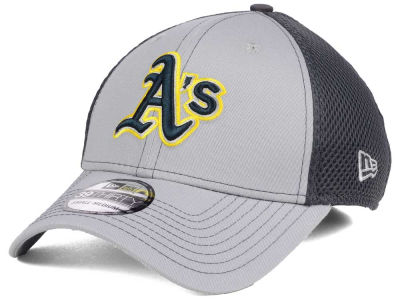 Oakland Athletics New Era MLB Greyed Out Neo 39THIRTY Cap
