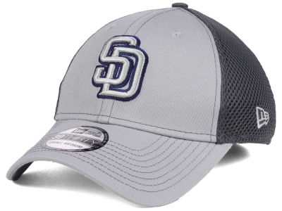 San Diego Padres New Era MLB Greyed Out Neo 39THIRTY Cap