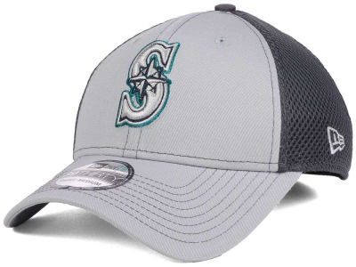 Seattle Mariners New Era MLB Greyed Out Neo 39THIRTY Cap