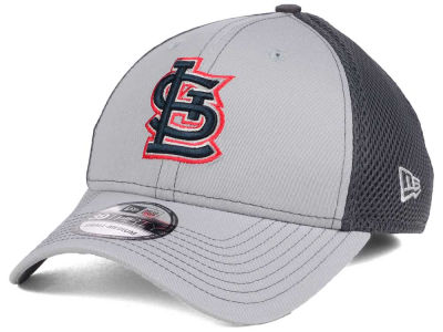 St. Louis Cardinals New Era MLB Greyed Out Neo 39THIRTY Cap