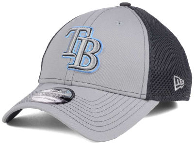 Tampa Bay Rays New Era MLB Greyed Out Neo 39THIRTY Cap