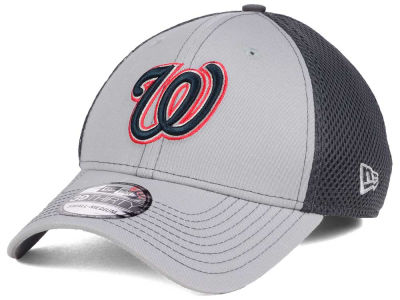 Washington Nationals New Era MLB Greyed Out Neo 39THIRTY Cap
