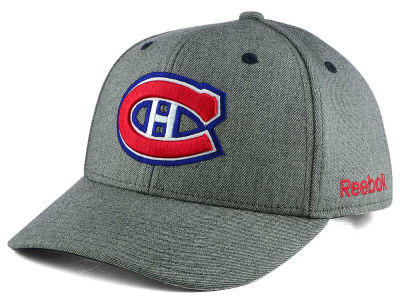 Montreal Canadiens Reebok NHL Structured Adjustable Cap