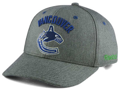 Vancouver Canucks Reebok NHL Structured Adjustable Cap