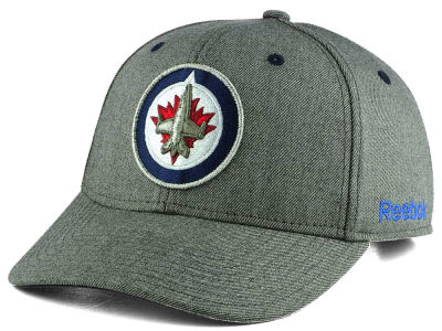 Winnipeg Jets Reebok NHL Structured Adjustable Cap