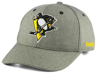 Pittsburgh Penguins Reebok NHL Structured Adjustable Cap